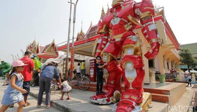 El templo Wat Tamru.