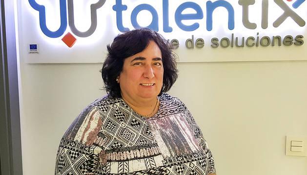 Ana Ábrego, socia directora de Talentix.