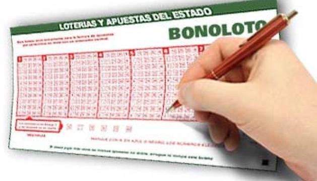 Un boleto de la BonoLoto.