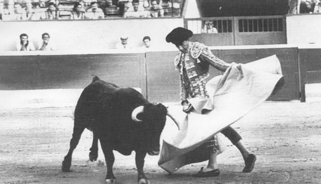 El torero Said Kazak, apodado 'El Palestino'.