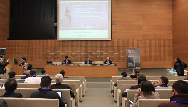 "FIWARE Roadshow ""Open Data for European Entrepreneurs"" celebrado en Pamplona."
