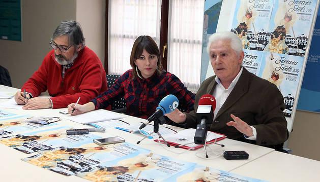 De izda. a dcha., Ángel Sada, Sofía Pardo y Luis Durán.