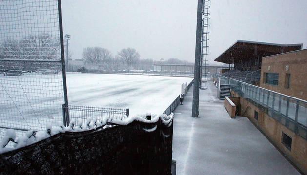 El Valle de Egüés-Osasuna de la semana pasada se aplazó por la nieve.