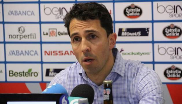 José Antonio Durán, técnico del Lugo.