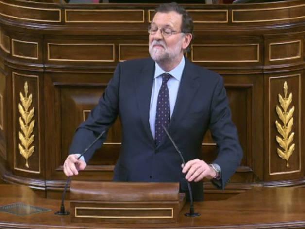 Rajoy recuerda que votará 'no' a la candidatura socialista
