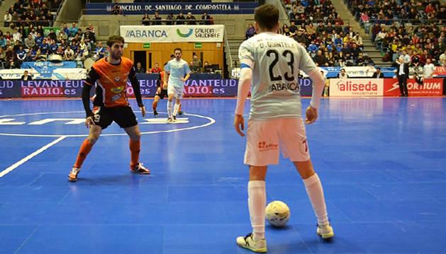 Molina marca y evita los goles en un nuevo triunfo del Aspil Vidal (1-2)