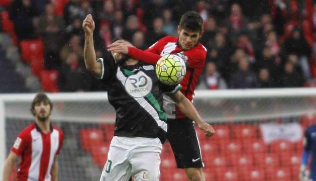 Imagen del Córdoba-Bilbao Athletic.