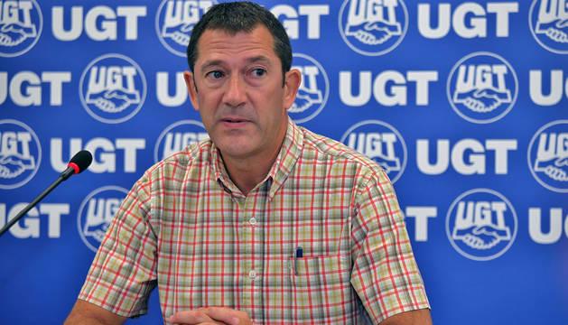 Lecumberri (UGT) emplaza a Barkos a