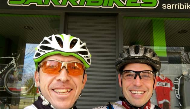 Diego Gómez Etayo y Luis Javier Etayo.