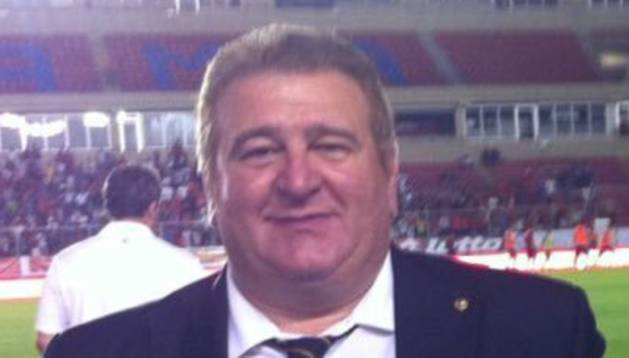 El periodista deportivo Gaspar Rosety.