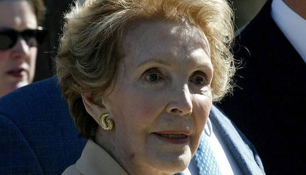 Muere la ex primera dama estadounidense Nancy Reagan