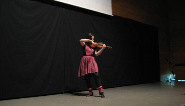 Ainara Franchez, ganadora del segundo premio.