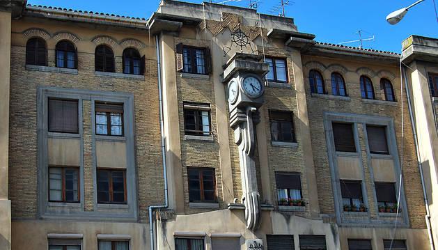 La vieja estación de autobuses de Pamplona que ahora Bildu quiere rehabilitar.