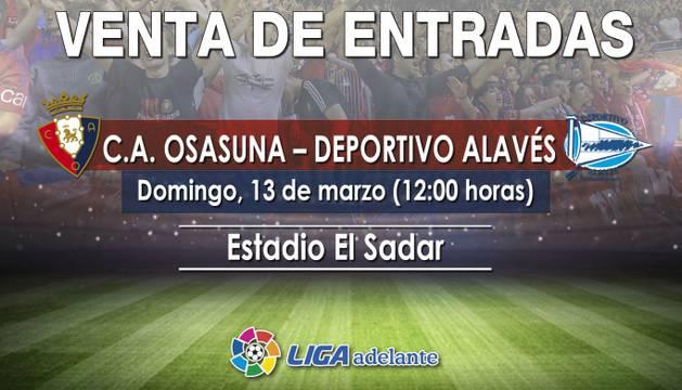 El partido se disputará el domingo a las 12 horas.