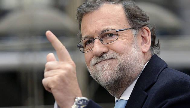 Mariano Rajoy, a su llegada a Bruselas.