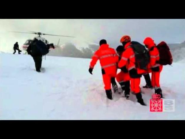 Rescate en la zona de Ibañeta