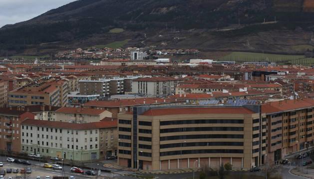 Pamplona estudia el convenio del proyecto del parque comarcal de San Cristóbal
