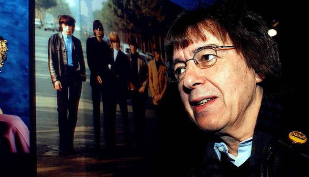 Bill Wyman, exbajista de los Rolling Stones.