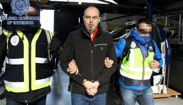 Trasladado a España Mikel Carrera, autor de último asesinato de ETA