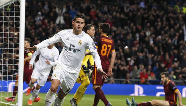 Keylor y Cristiano se bastan para eliminar al Roma (2-0)