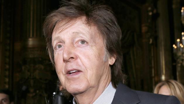 El músico británico Paul McCartney.