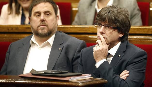 Puigdemont pide un aval para los Presupuestos contra la pobreza