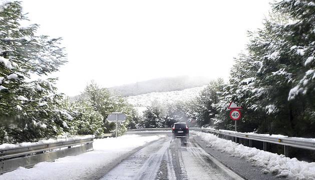 Imágenes de la nieve.