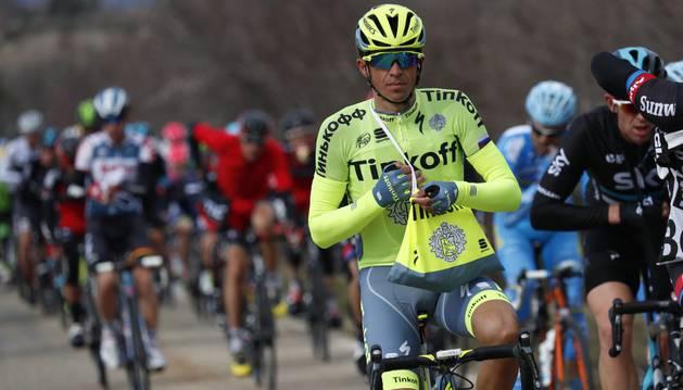 Alberto Contador, en la París-Niza.