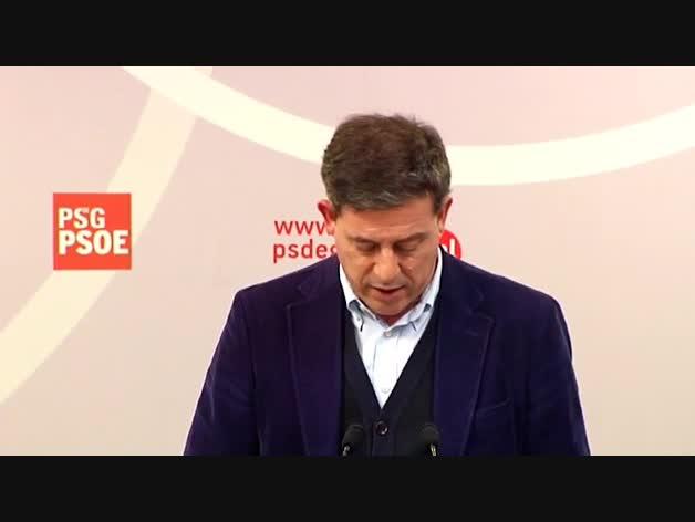 Besteiro no será candidato de PSOE a la Xunta pero seguirá dirigiendo el partido