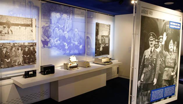 Parte de la exposición que acogerá el Museo EFE.