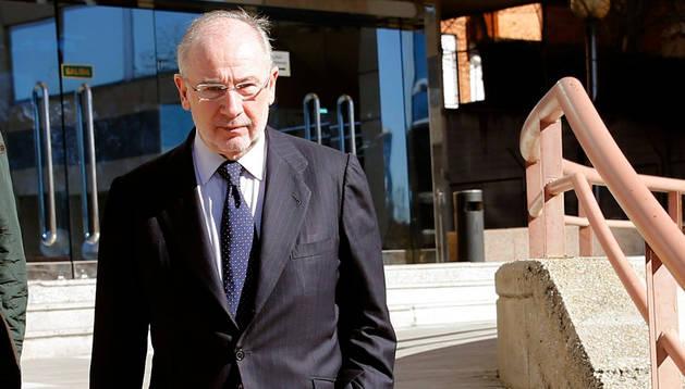 Rodrigo Tato saliendo de la Audiencia Provincial de Madrid.