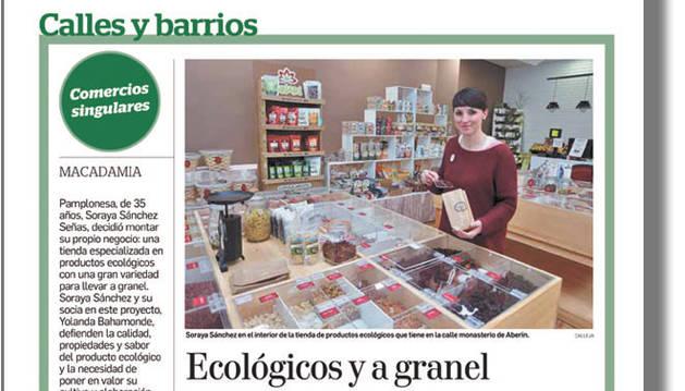 'Comercios singulares', un recorrido por tiendas destacadas en Pamplona.