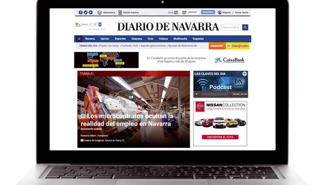 Nueva web: +Visual + Orden + Contenido