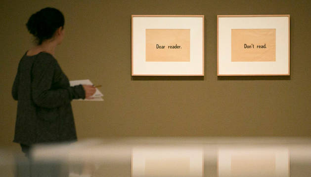 Presentación de la retrospectiva 'Querido lector. No lea'.