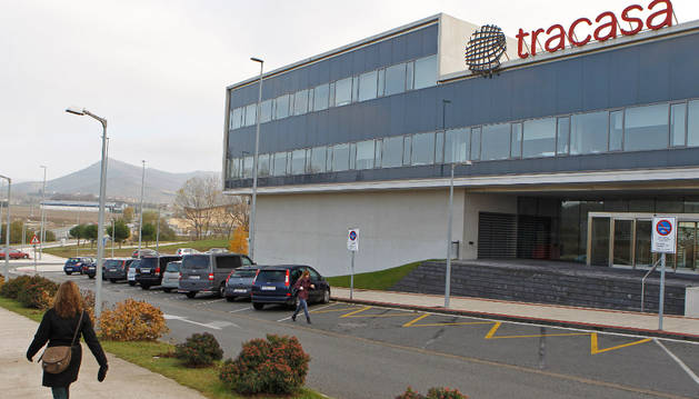Sede de Tracasa, en Sarriguren.