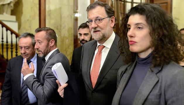 Rajoy, en el Congreso.
