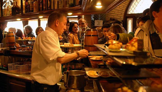 Un bar tafallés, en una pasada edición de la cita gastronómica.