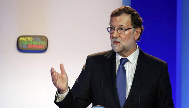 """Rajoy: """"No actué antes porque no tenía ni idea de lo que pasaba en Valencia"""""""