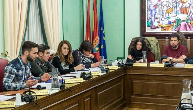 Rifirrafe entre UPN y el alcalde (Bildu) por la gestión