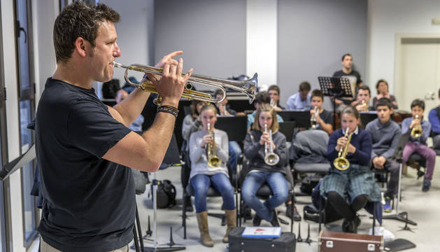 Enseñanza de trompeta