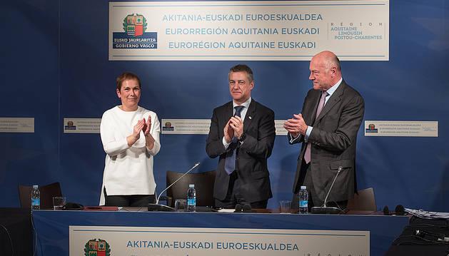 Navarra se incorporará a la eurorregión Aquitania-Euskadi