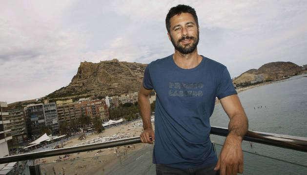 Hugo Silva, protagonista de la Muestra de Cine Español de Tudela
