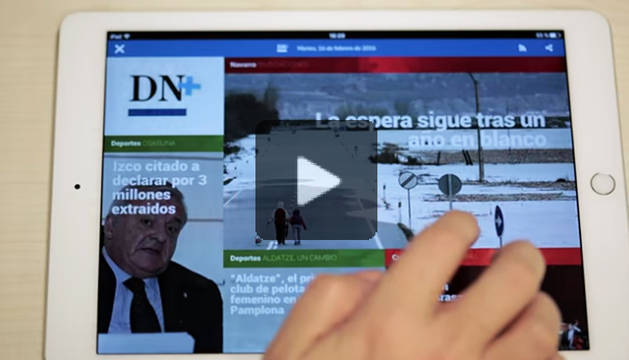 DN+ Tablet: Una pausa multimedia al final del día