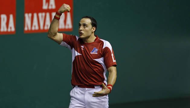 Juan Martínez de Irujo, en un partido anterior.