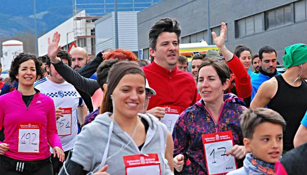 La carrera ha contado con alrededor de 700 participantes.