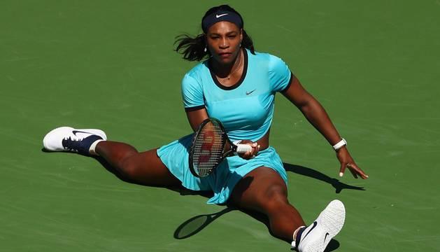 Acrobático resto de Serena Williams.