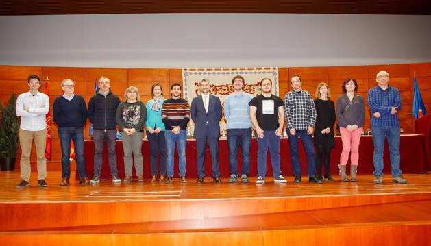 Los claustrales elegidos para el Consejo de Gobierno.