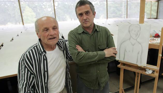 Antonio López y Aquerreta, en una edición anterior de los talleres.