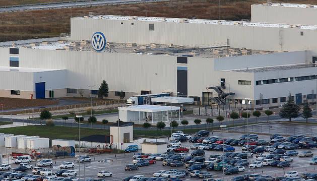 Instalaciones de Volkswagen Navarra en Landaben.