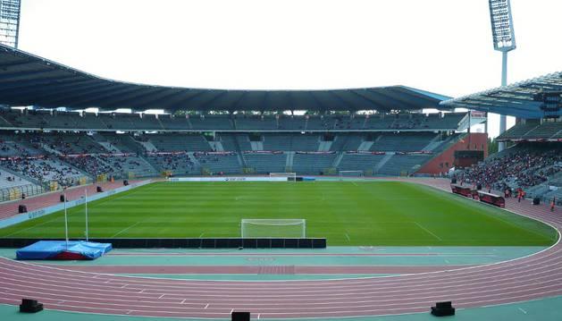 El Stade Roi Baudouin donde debía disputarse el encuentro.